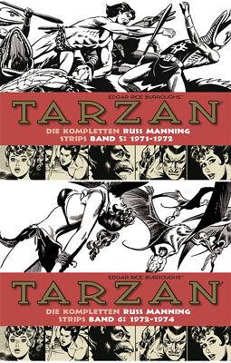 Tarzan, BOCOLA Verlag, Die kompletten Russ Manning Strips, Band 5 & 6