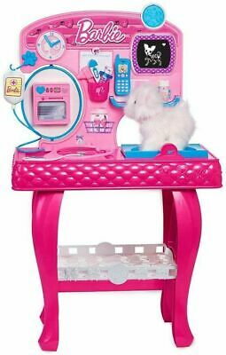 Barbie Pet Vet Groomer Station Dog Hospital Pet Care Just Play Set 18 Pieces NEW