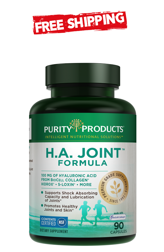 Purity Products H.A. Joint Formula 90 Capsules - Exp 2022 - Free Shipping