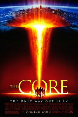 THE CORE 11x17 Movie Poster - Licensed | New | USA |  [A] Core Movie Poster