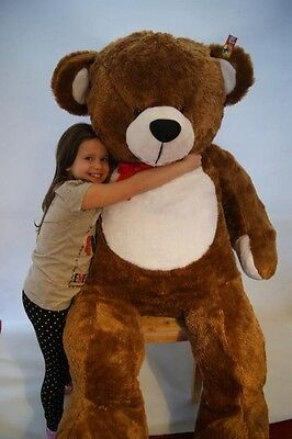 180 cm !! GIANT LARGE BIG HUGE BROWN TEDDY BEAR  FREE DELIVERY birthday gift
