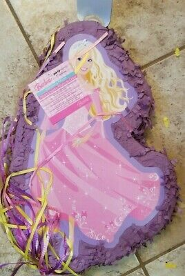 NEW Barbie Princess Pinata Birthday Party Express by Hallmark FS - Pinata Barbie
