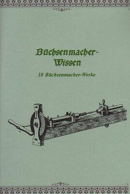 Büchsenmacher Waffenschmied 10 Bücher 2240 S. eBook-Sammlung Gewehre Pulver CD