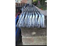 Ben Sayers conquest golf irons- full set + 1 wood