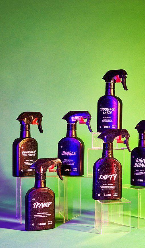 Lush Cosmetics Body Spray Pick Your Scent 10 ml