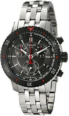 Tissot PRS 200 Black Dial T-Sport Chrono T0674172105100 Mens Swiss Made Watch