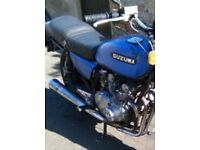 Suzuki gs550 tank and seat for sale