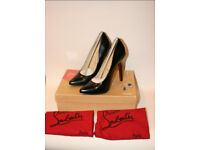 "christian louboutin Stiletto Court Shoes 4"" High Size 38 Brand New"