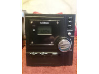 Goodmans Micro CD/Radio system ideal for childs bedroom