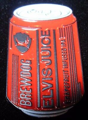 Brewdog Brew Dog Elvis Juice Lapel Pin Badge Button Craft Brewery Brewing