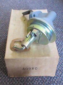 40930-NEW-NOS-Mechanical-Fuel-Pump-3-Line-Short-M6404-72-74-Pontiac-350-400-V8