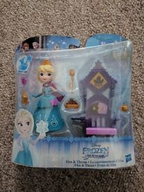 Brand new Elsa & Throne of Frozen Little Kingdom.