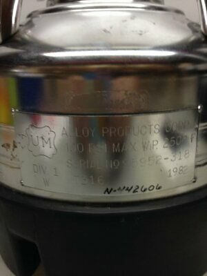 Alloy Millipore Stainless Steel Vessel 5 Liters Xx6700p05