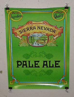 SIERRA NEVADA BEER POSTER PALE ALE MICRO CRAFT BEER