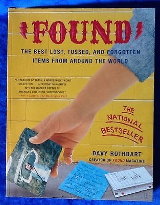 Found By Davy Rothbart Paperback 2004 The National