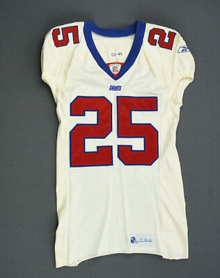 349451b8d 2002 Will Allen New York Giants Game Used Worn Jersey! Syracuse Size 46