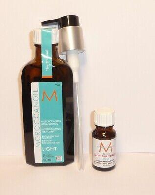 Moroccanoil Aceite de Argán Tratamiento Light sin Alcohol 100ml+10ml Gratis+
