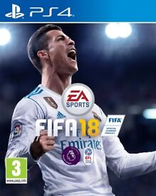 FIFA 18 PS4 - UNOPENED