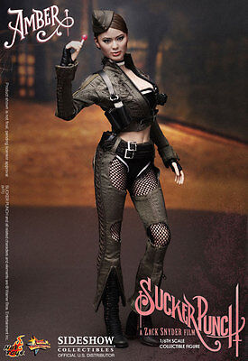 Sideshow Hot Toys 1/6 Scale 12 Sucker Punch Amber Female Figure Doll Mms158