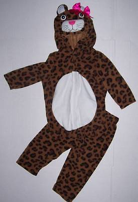 18-24 Month Old Girl Halloween Costumes (OLD NAVY 2 piece LEOPARD COSTUME 12-24 months 12 18 24  Cheetah Cat)