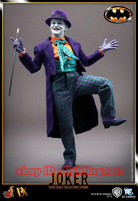Hot Toys The Joker DX08 1/6 Figure 1989 Jack Nicholson Opened New In Stock, used for sale  China