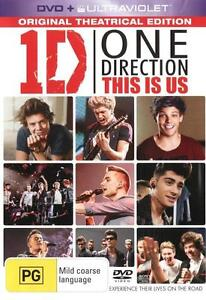 One Direction 1D: THIS IS US : NEW DVD