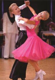 Ballroom and latin dance classes for children