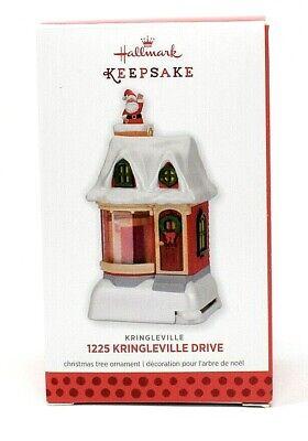 RARE NEW 2013 HALLMARK 1225 KRINGLEVILLE DRIVE CHRISTMAS ORNAMENT PRETTY SCARCE