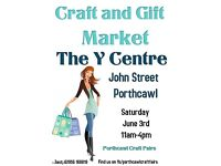 June Craft and Gift Market at the Y Centre, YMCA, Porthcawl