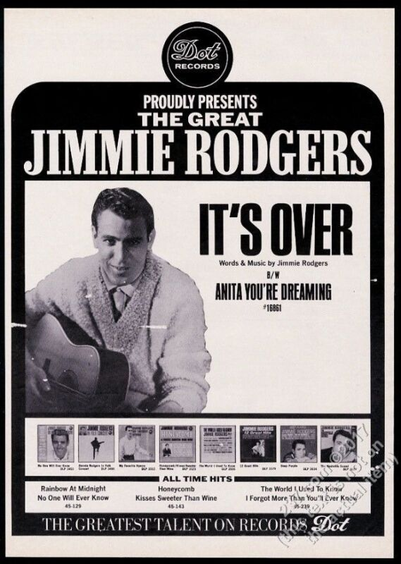 1966 Jimmie Rodgers photo It