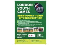 Hammersmith & Fulham (London Youth Games) - Girl's Basketball Team Trials
