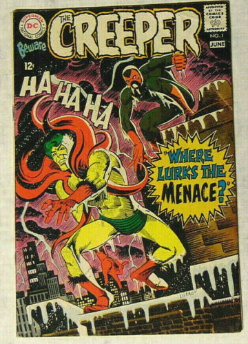 Beware The Creeper #1 VG 1968 DC Comics Steve Ditko Cover/Story
