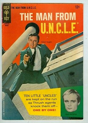 Man From Uncle  5 March 1966 Vg Photo Cover