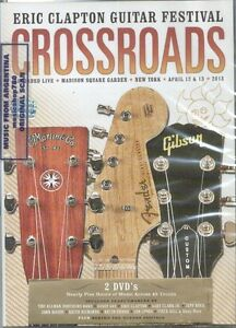 2 DVD SET ERIC CLAPTON GUITAR FESTIVAL CROSSROADS SEALED NEW 2013