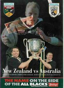 NEW-ZEALAND-v-AUSTRALIA-16-Aug-1997-at-Dunedin-RUGBY-PROGRAMME-TRI-NATIONS
