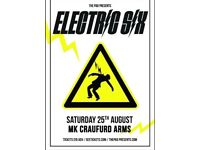 Electric six at the Craufurd Arms, Wolverton - 25th August