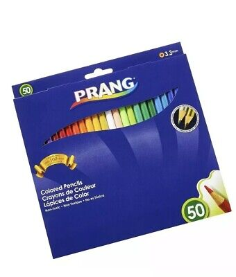 Prang Colored Pencils 50-Color Set  - 50-Color Set