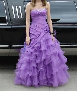 Light Purple Grad/Prom Dress - size 4 Regina Regina Area image 1