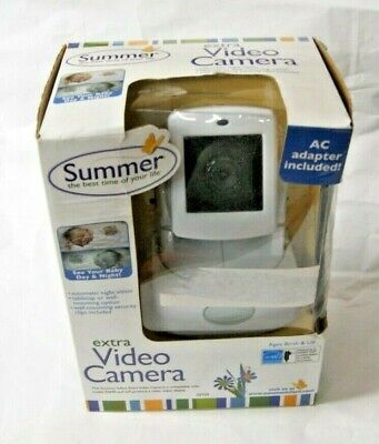 Summer Infant Extra Video Camera Model 02730 Used For Best View Monitor (Summer Best View Extra Camera)