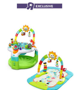 Bright Starts 2-in-1  Activity Gym and Saucer