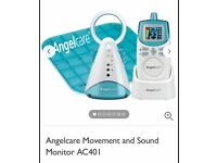 Angelcare Movement and Audio monitor AC401