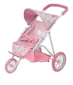 Baby Annabell 3 wheel stroller brand new in box