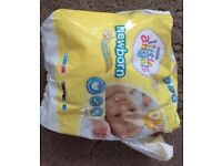 Nappies sizes 0 & 1 & 2 & 3