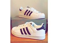 ADIDAS SUPERSTAR * ANY SIZE * ANY COLOUR £40 free P+P