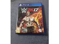 Wwe 2k17 ps4 like new