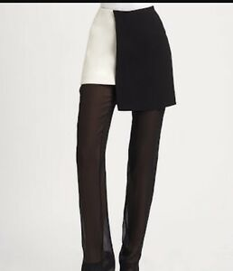 Phillip Lim Pants with sheer overlay skirt size 2 (au 8) North Melbourne Melbourne City Preview