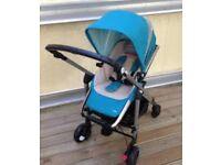 Maxi cosi loola blue turquoise pram Pushchair stroller