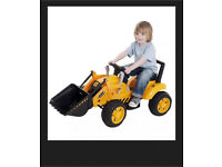 JCB Kids Junior Preschool Battery Operated Tractor Digger Ride On OutdoorToy New
