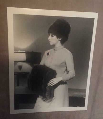 "VERY RARE 1967 Barbra Streisand Funny Girl BTS Promo 8"" x 10"" Photo No. 2917"