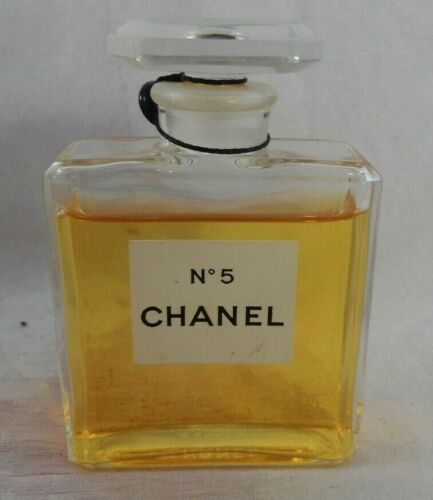 "VNTG 1966 Chanel No 5 Dummy Display Perfume Bottle 3.5"" tall Made France Sealed"
